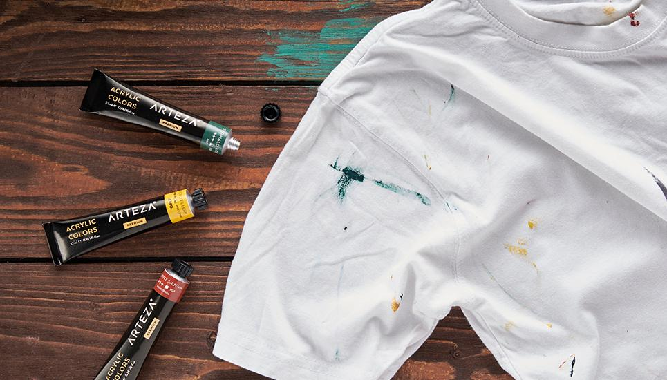Cleaning Acrylic Paints