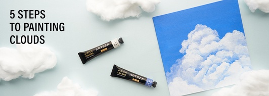 How to Paint Clouds with Acrylics