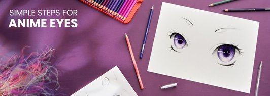 How to Draw Anime Eyes in 5 Easy Steps