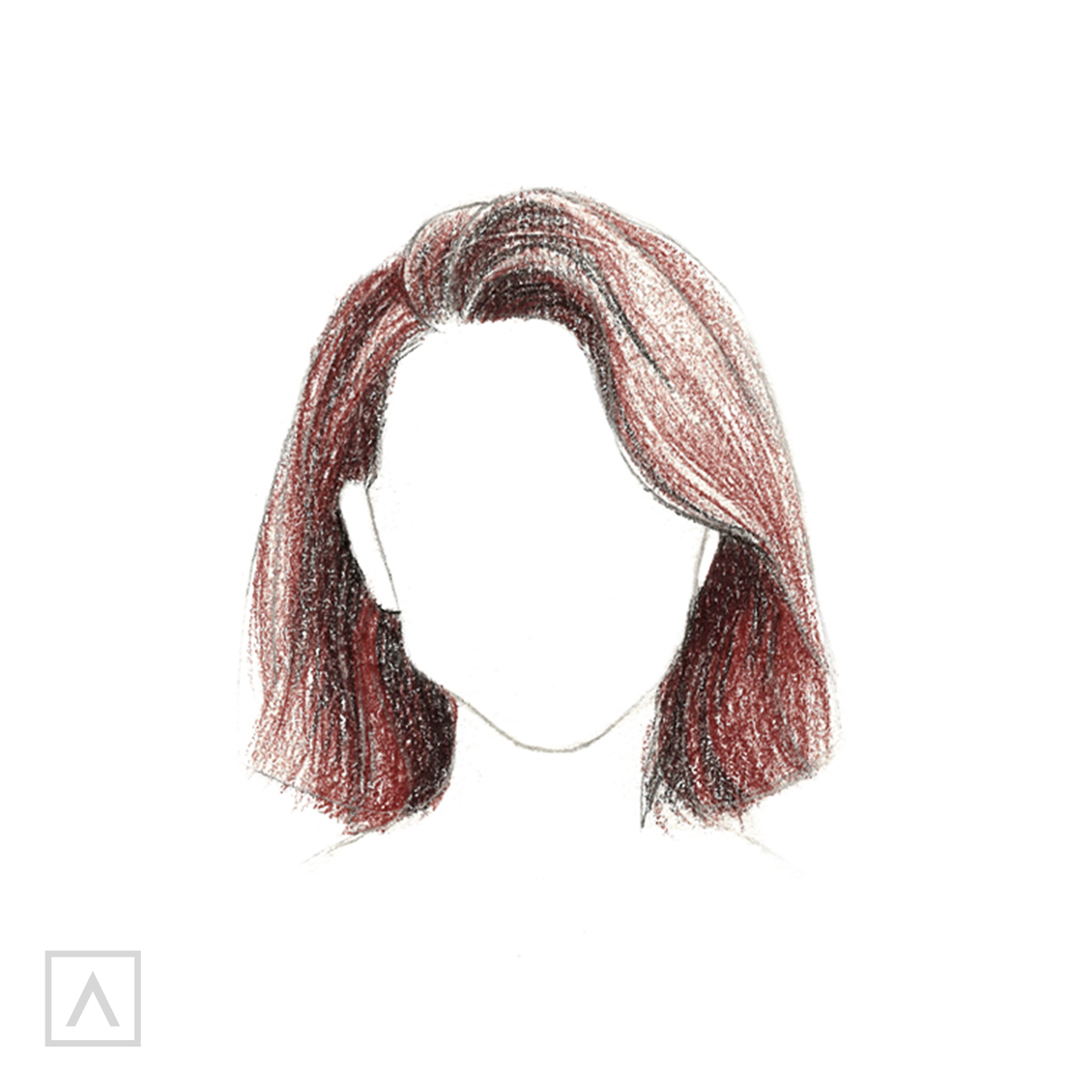 How to Draw Short Hair - Step 8