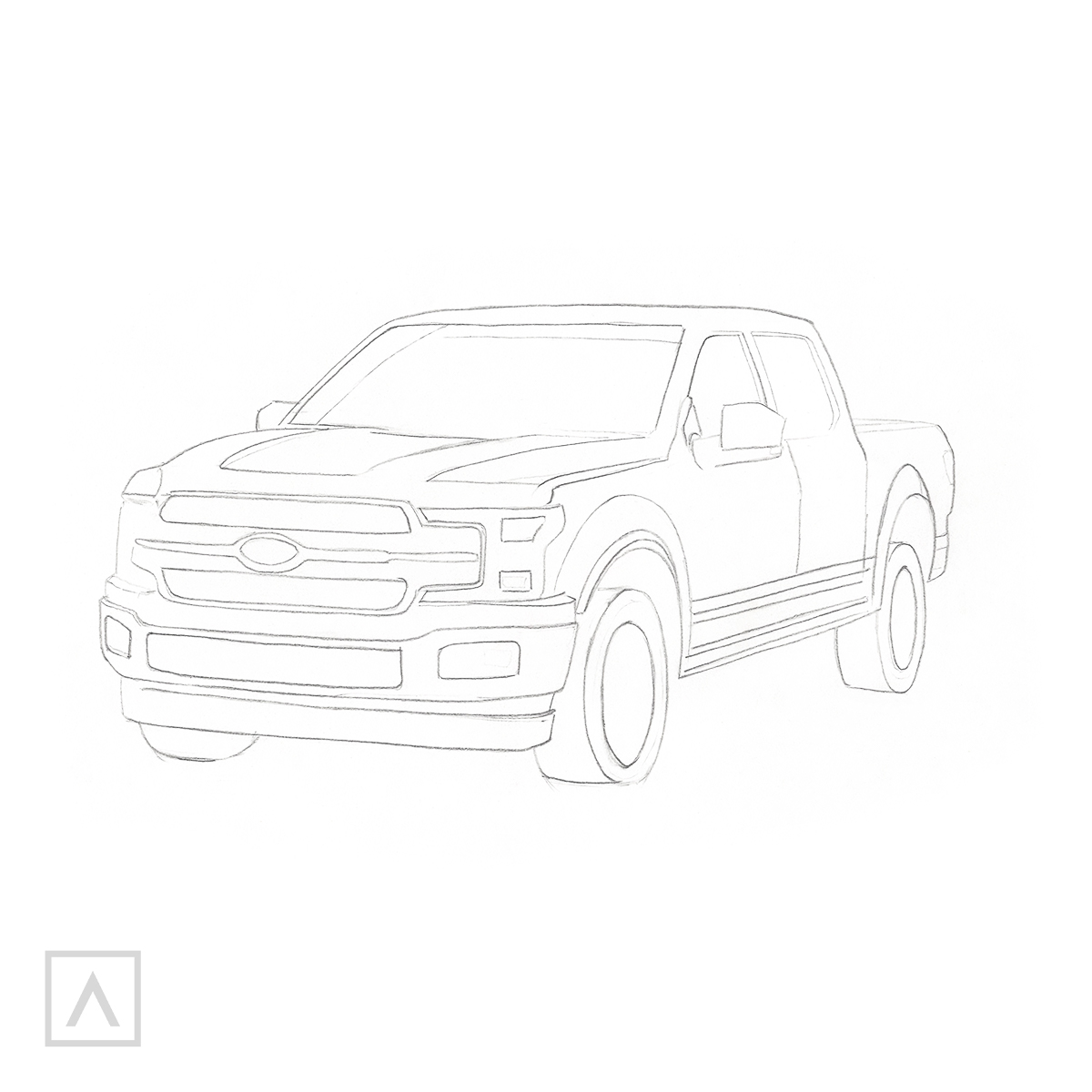 How to Draw a Car - Step 8