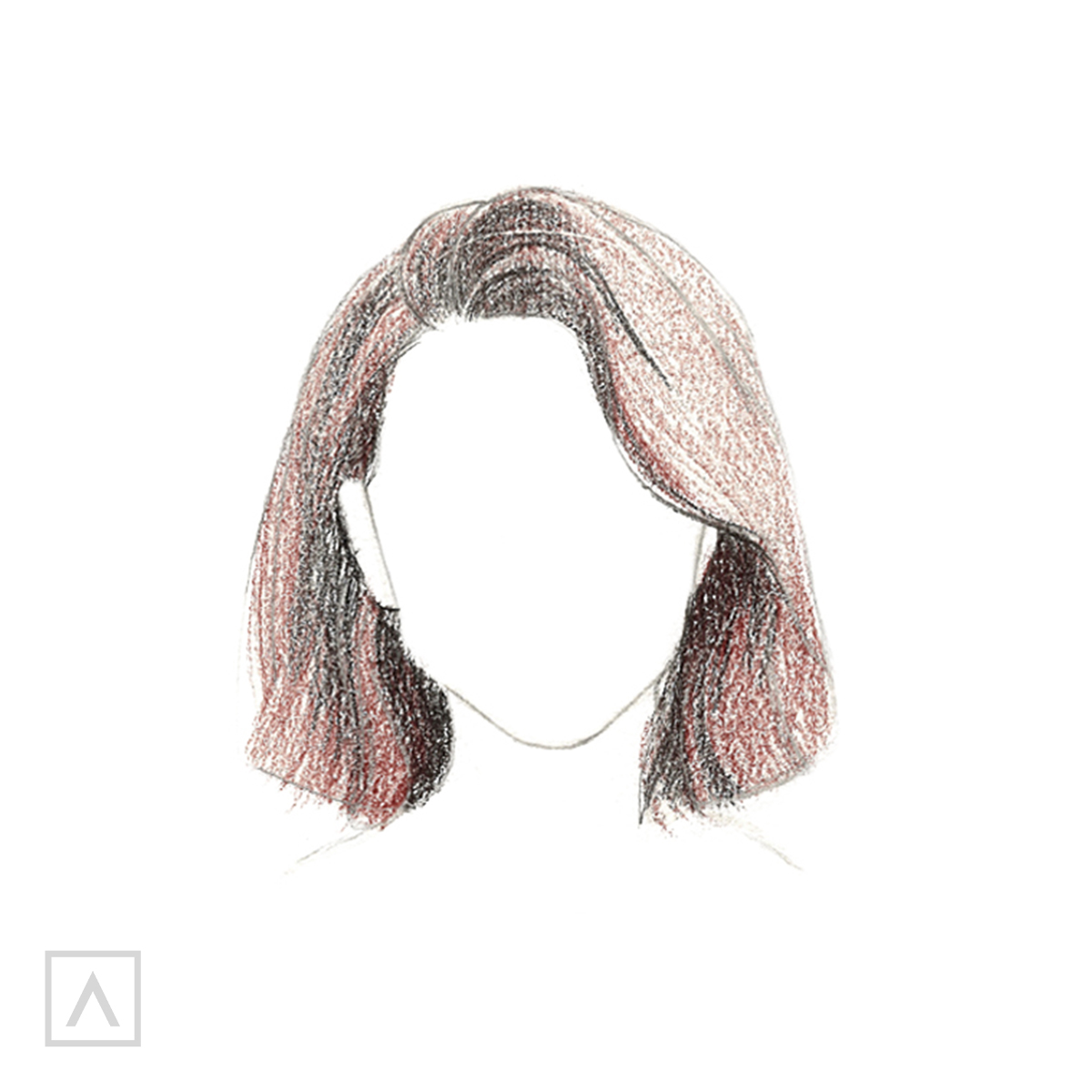 How to Draw Short Hair - Step 7