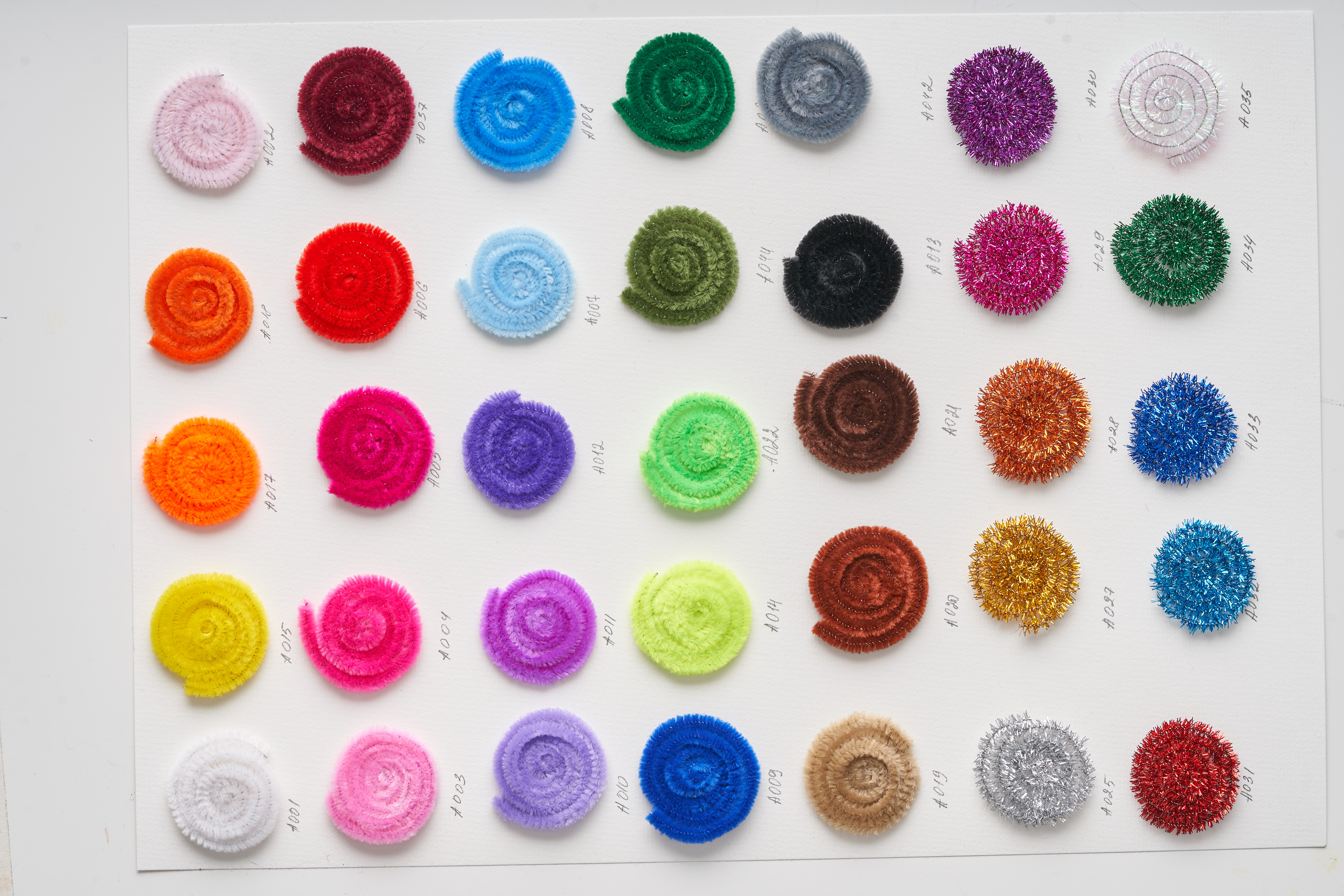Chenille Stems, Assorted Colors - Set of 650